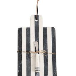 Paddle Stripe Marble Board Set | Dillards