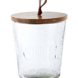 Textured Glass Ice Bucket | Dillards