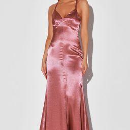 Troublemaker Rose Pink Sleeveless Mermaid Maxi Dress | Lulus (US)
