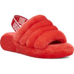 Fluff Yeah Genuine Shearling Slingback Sandal | Nordstrom | Nordstrom