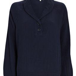 Qwynn Cotton Gauze Shirt | INTERMIX
