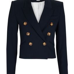 Nevis Cropped Double-Breasted Blazer | INTERMIX