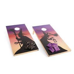 Twilight Witches Cornhole Set | Grandin Road | Grandin Road
