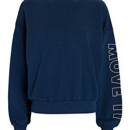 The Loosen Up Cropped Sweatshirt | INTERMIX