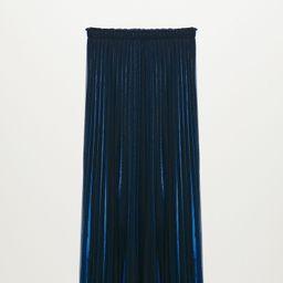Metallic pleated skirt -  Women | Mango USA | MANGO (US)