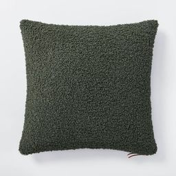 Boucle Throw Pillow with Exposed Zipper – Threshold™ designed with Studio McGee | Target