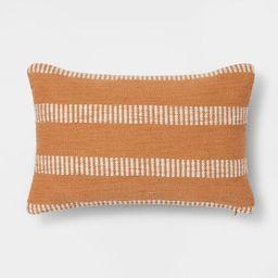 Woven Linework Lumbar Throw Pillow - Threshold™️ | Target