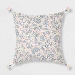 Jacobean Square Throw Pillow - Threshold™ | Target