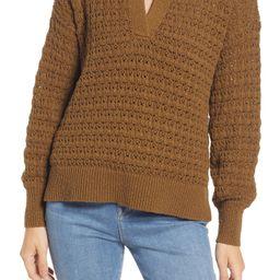Sunbury Open Stitch Polo Sweater | Nordstrom | Nordstrom