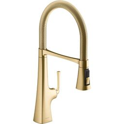 K-22061-2MB Graze Single-Handle Semi-Professional Kitchen Sink Faucet With 21-9/16-In Spout | Wayfair Professional