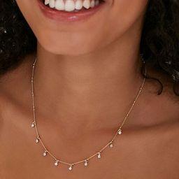 Rhinestone Charm Necklace | Forever 21 (US)