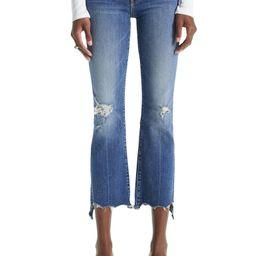 The Insider High Waist Crop Step Chew Hem Jeans | Nordstrom