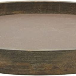 Stonebriar Rustic Natural Wood and Metal Candle Holder Tray, Home Decor Accessories for the Coffe...   Amazon (US)