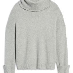 Women's Drape Turtleneck Sweater | Nordstrom