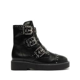 Caligas Studded Combat Bootie | Schutz Shoes (US)
