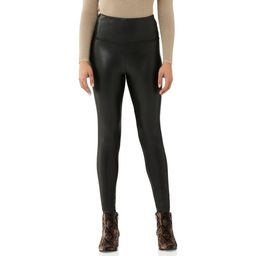 Let the weekend begin! Faux leather leggings from Scoop keep your style on edge. Comfortably craf... | Walmart (US)