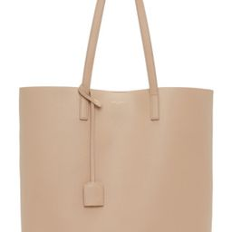Beige North/South Shopping Tote | SSENSE