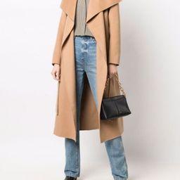 felted-wool belted coat | Farfetch (US)