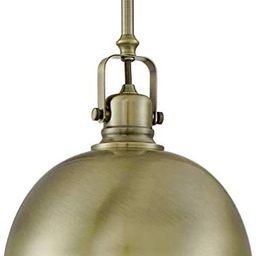 "Kira Home Belle 9"" Contemporary Industrial 1-Light Pendant Light, Adjustable Length + Shade Swive... | Amazon (US)"