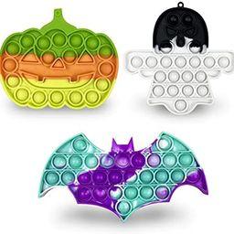 Jofan 3 Pack Halloween Pop Fidget Toys Packs for Kids Girls Boys Halloween Party Favors Halloween... | Amazon (US)