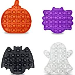 Jofan 4 Pack Halloween Pop Fidget Toys Packs for Kids Girls Boys Halloween Party Favors Halloween... | Amazon (US)