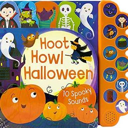 Hoot Howl Halloween 10-Button Sound Book for Little Trick-Or-Treaters (Interactive Children's Sou... | Amazon (US)