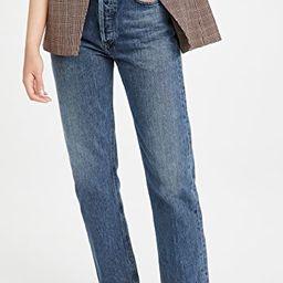 The 90's Pinch Waist Jeans   Shopbop