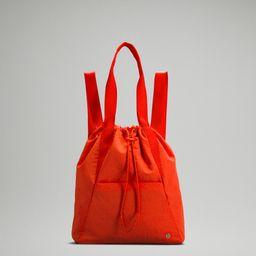 Dual Function Backpack to Tote Bag 18L | Women's Bags | lululemon | Lululemon (US)