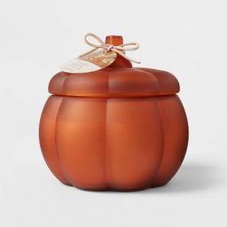 Large Pumpkin Spice Sundown Orange Candle - Threshold™   Target