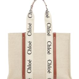 Large Woody Logo Strap Canvas Tote | Nordstrom | Nordstrom