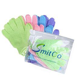 SMITCO Exfoliating Gloves - Body Scrubbers for Use in Shower - Exfoliator Bath Scrub for Men and ... | Amazon (US)