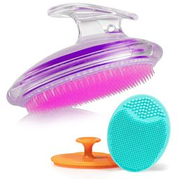 Exfoliating Brush For Razor Bumps and Ingrown Hair Treatment, Silicone Face Scrubbers, Face and B... | Amazon (US)