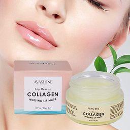 Avashine Lip Sleep Mask with Collagen Peptide, lip mask for dry lips, a Lip Moisturizer for Lip C... | Amazon (US)