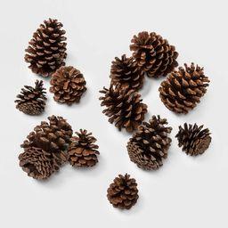 12ct Cinnamon Scented Artificial Christmas Pine Cones Decorative Figurine - Wondershop™   Target