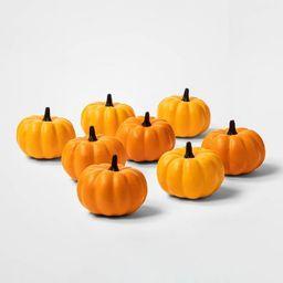 8ct Painted Pumpkins Halloween Decorative Sculpture Set - Hyde & EEK! Boutique™   Target
