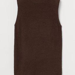 Rib-knit Sweater Vest | H&M (US)