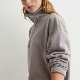 Collared Sweatshirt Dress   H&M (US)