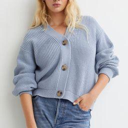 Rib-knit Cardigan   H&M (US)