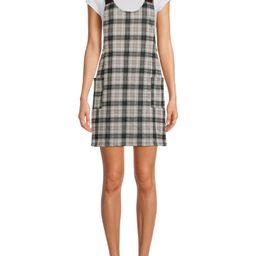 No Boundaries Juniors' Pinafore Dress - Walmart.com   Walmart (US)