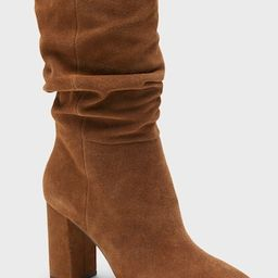Midshaft Suede Slouchy Boot   Banana Republic (US)