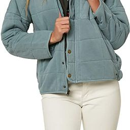 O'Neill Women's Quilted Button Front Jacket   Amazon (US)