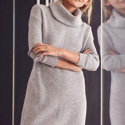 Tea Reader Light Grey Sweater Dress | Lulus (US)