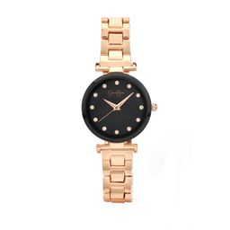 Jessica Simpson Rose Gold Tone Modern Crystal Bracelet Watch   Walmart (US)