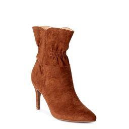 Scoop Women's Blair Scrunch Stiletto Heeled Bootie   Walmart (US)