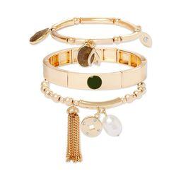 C. Wonder Layered Charm Bracelets, Set of 3   Walmart (US)