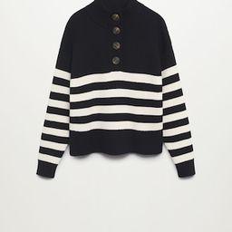 Striped knit sweater   MANGO (US)