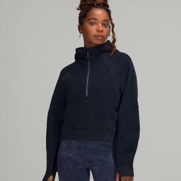 Scuba Oversized 1/2 Zip Hoodie | Women's Hoodies & Sweatshirts | lululemon | Lululemon (US)