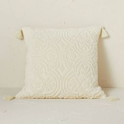 Arabesque Pattern Textured Square Throw Pillow - Opalhouse™ designed with Jungalow™   Target