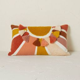 Embroidered Sun Lumbar Throw Pillow - Opalhouse™ designed with Jungalow™   Target
