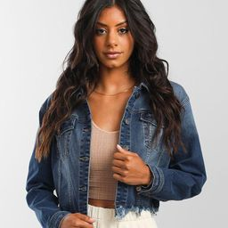 Vigoss Cropped Denim Stretch Jacket | Buckle